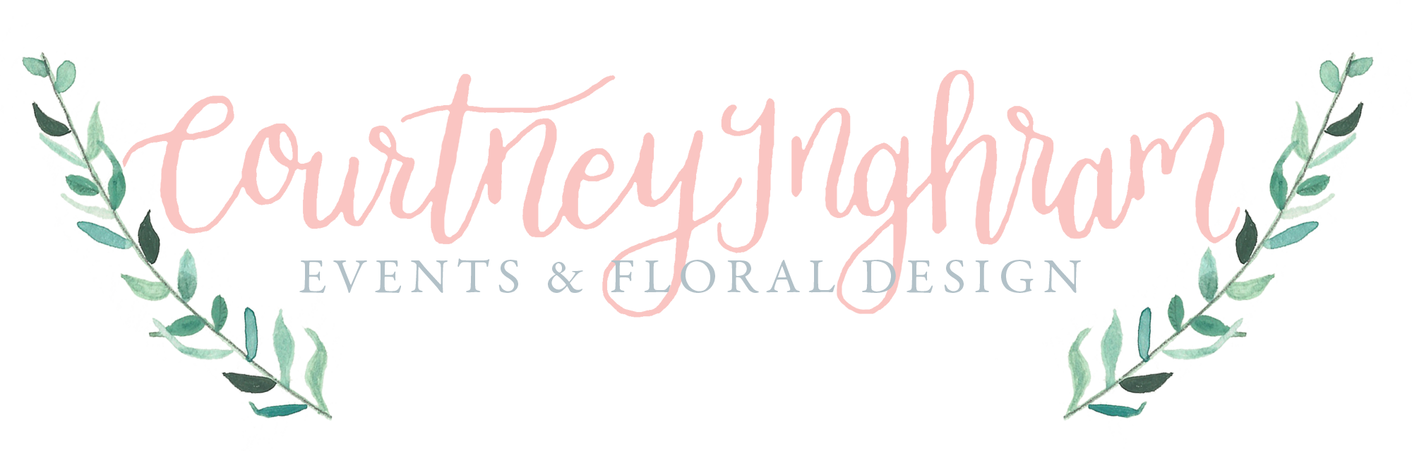 Calligraphy Logo Design Courtney Inghram Events